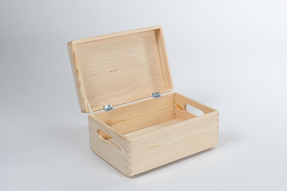 pudełko drewniane zamykane